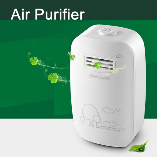 Air Purifier Negative Ion Generator 220v Air Cleaner Anion Oxygen Portable Ionizer Generator Sterilization Dusting Clean Room