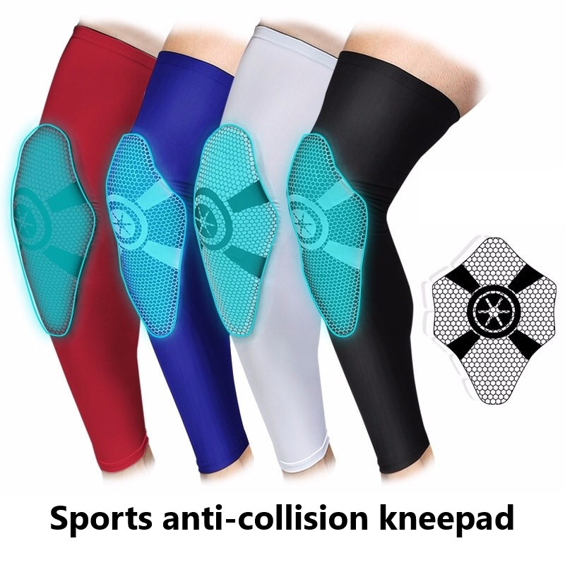 Basketball Kneepad Lengthening, Breathable, Anti-collision, Legs, Pantyhose, Outdoor Mountaineering, Football Sport Gear
