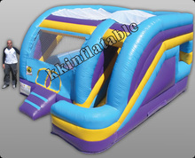 Factory Promotional Inflatable Bouncer Inflatable Combo House with slide jumper