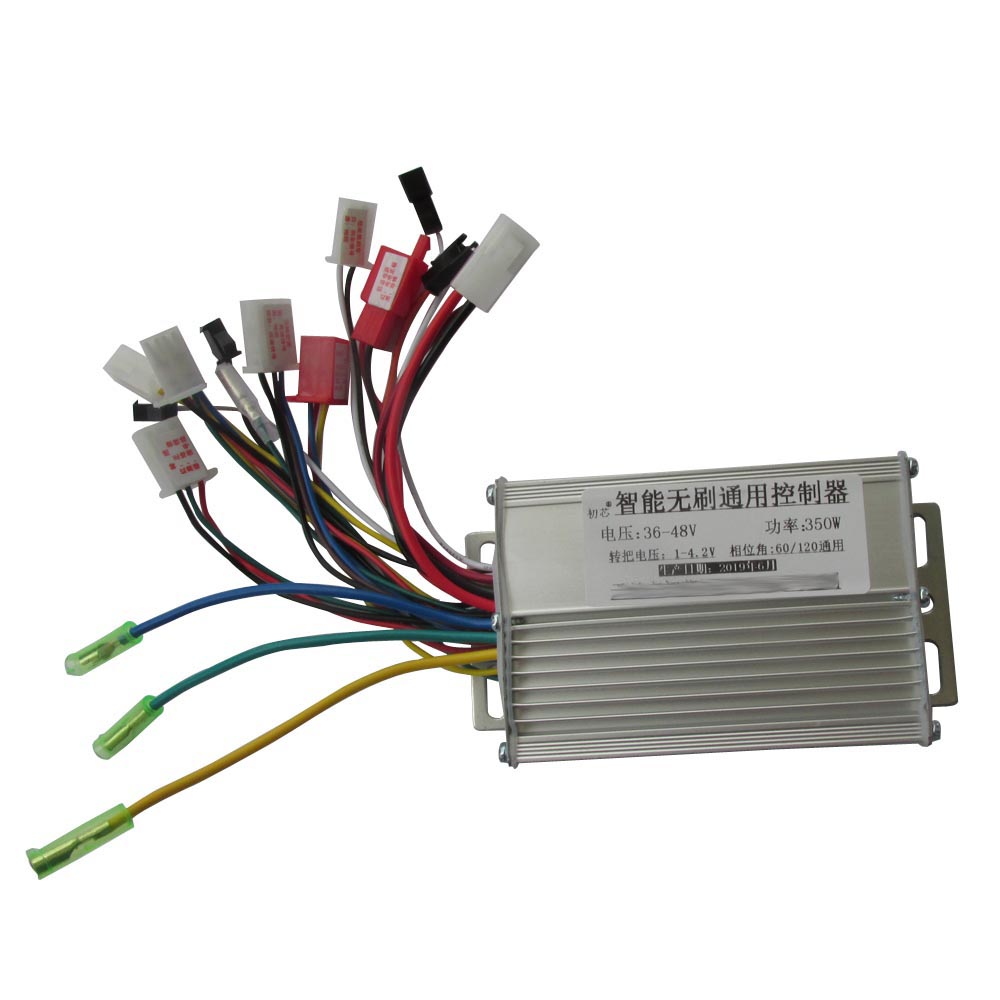 36V/48V 350W Electric Bicycle Controller/ebike Controller For E-bike Scooter Dual Mode Brushless Hall Sensor/sensorless