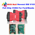 Profesional Para Ford VCM 2 Completo Viruta OBD2 Coche Escáner de Diagnóstico VCM II Para Ford/Mazda 1996-2016 VCM2 IDS V101 DHL LIBERA la Nave