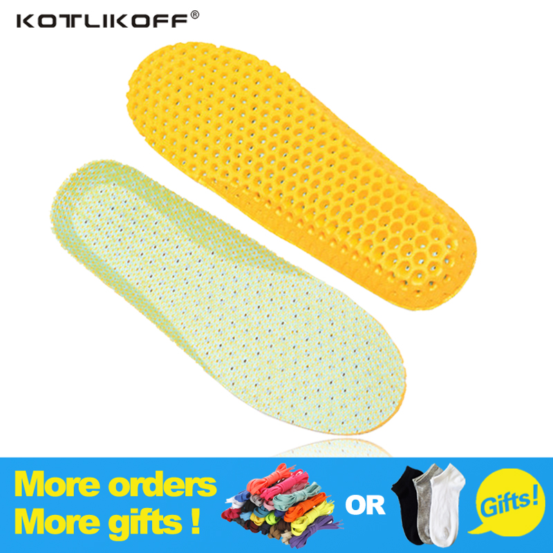Unisex Insoles Orthotic Arch Support Sport Running Shoe Pad Active Carbon Fiber Remove Odors Insole Insert Cushion for Men Women unisex silicone insole orthotic arch support sport shoes pad free size plantillas gel insoles insert cushion for men women xd 01