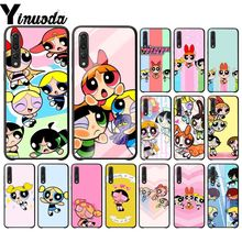 Yinuoda The Powerpuff Girls Black TPU Soft Silicone Phone Case Cover for Huawei Mate10 Lite P20 Pro P9 P10 Plus View 10