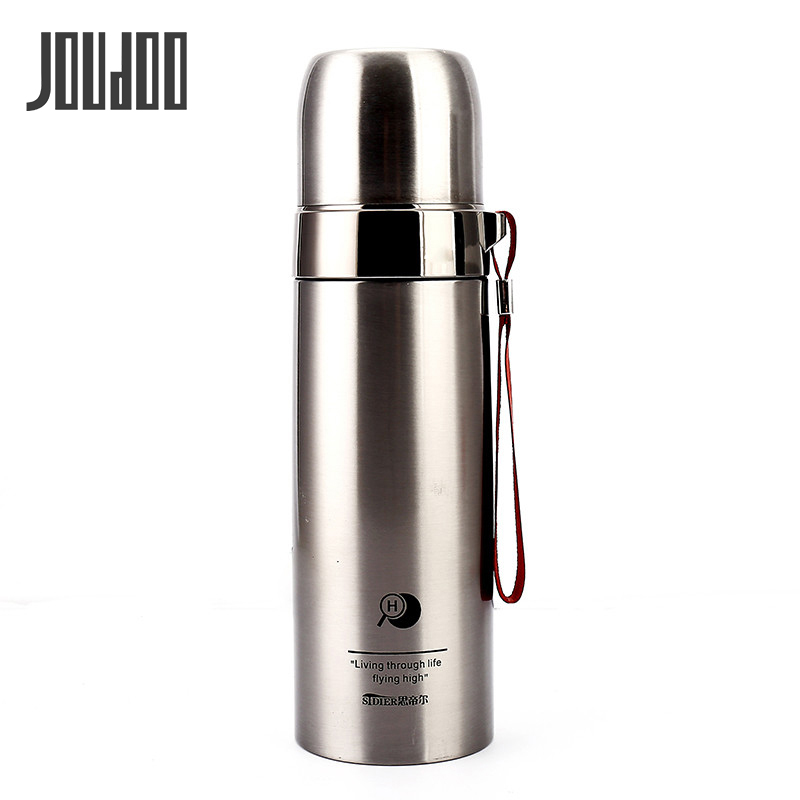 JOUDOO 350ml/500ml 304 Stainless Steel Vacuum Flasks Thermos Thermal Bottle For Coffee Tea Thermocup Insulated Cup Thermo Mug 35