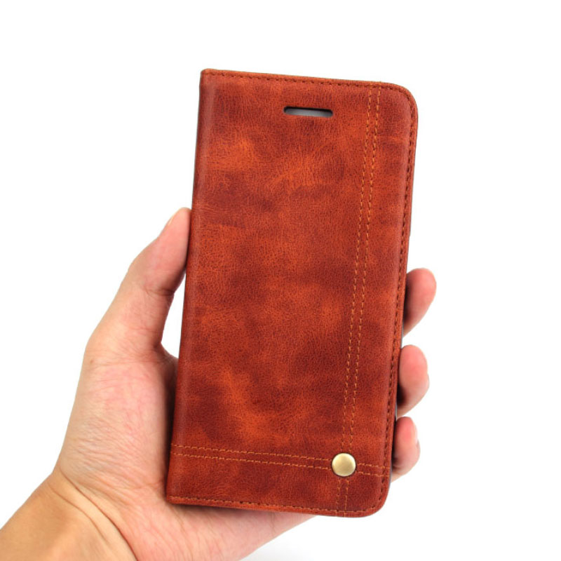 New Design Wallet Leather Phone Case for iPhone 6 6s Plus 7 7 Plus Luxury Flip Phone Holder Cover Case For iPhone 6 6s 7 7Plus
