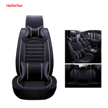 HeXinYan Leather Universal Car Seat Covers for Renault all models captur kadjar fluence Captur Laguna Megane Latitude duster