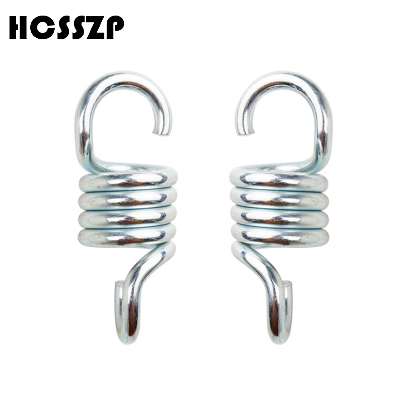Hamaca de resorte de extensi/ón de acero resistente para colgar sillas gancho de suspensi/ón para columpio de jard/ín 7 mm porches accesorios para exteriores