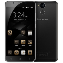 Blackview P2 Lite 4G Android 7.0 Smartphone 5.5 Inch MTK6753 1.3GHz Octa Core 3GB+32GB 6000mAh Full HD 13.0MP OTG Mobile Phone