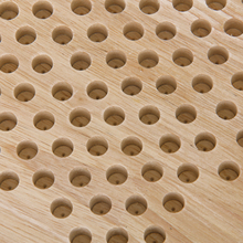 Hexagon Wooden Chinese Checkers Set