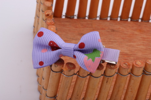 New Childrens Baby Girls Bow Strawberry Colth Dot Cartoon Hairpin Princess Hair Clips For Children Tiara Acessorio De Cabelo T