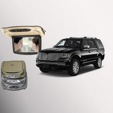 Bigbigroad для Lincoln Navigator крыше автомобиля установлен в автомобиль светодиодный цифровой Экран Поддержка HDMI USB FM ТВ игры ИК удаленного флип Подпушка DVD