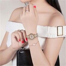 Watch Ladies Fashion Dress Watches 2019 Luxury Brand Quartz Watch Women Ceramic Stainless Steel Ladies Watch Relogio Feminino