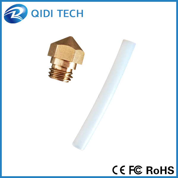 QIDI TECHNOLOGY Nozzle size 0.4mm MK10 for 3d printer print with 1.75mm filament