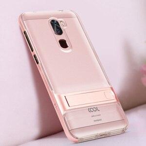 """Image 5 - 3D étui de téléphone Mobile à béquille LeTV LeEco Cool 1 double Coolpad Cool1 housse de protection 5.5 """"hybride TPU + PC protection LeRee Le 3 Le3 sac"""