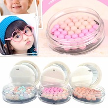 Pressed Face Powder Makeup Ball Blusher
