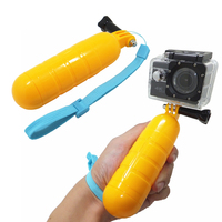 Waterproof Gopro Bobber Floating Non-slip Hand Bar Selfie Grip, for Gopro 5 4 3 3+ Xiaomi Yi 4K SJ4000 sport camera Accessories