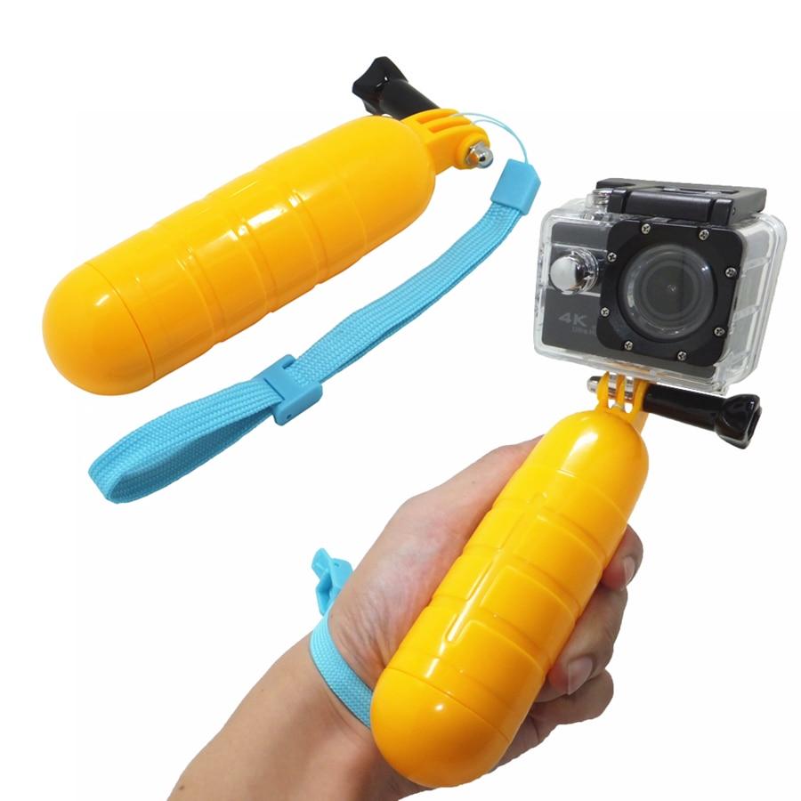 Waterproof Gopro Bobber Floating Non-slip Hand Bar Selfie Grip, for Gopro 5 4 3 3+ Xiaomi Yi 4K SJ4000 sport camera Accessories for gopro floating bobber hand wrist strap waterproof diving floating foam for xiaomi yi sj4000 sj5000 sj6000 waterproof camera