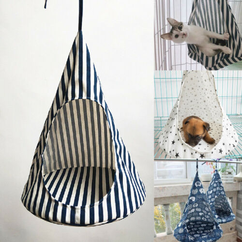 New Comfortable Pet Cat Dog Conical Sleeping Bed Basket Hammock Bed Window Cage|Cat Crates & Cages|   - AliExpress