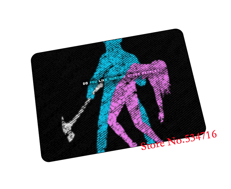 Hotline Miami mouse pad Domineering gaming mousepad Professional gamer mouse mat pad game computer desk padmouse keyboard mats