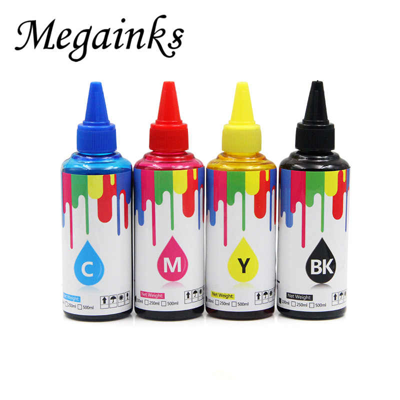 100 Ml Pewarna Tinta untuk Epson WorkForce Pro Wp 4011 WP 4511 WP 4521 WP 4531 Tinta Printer