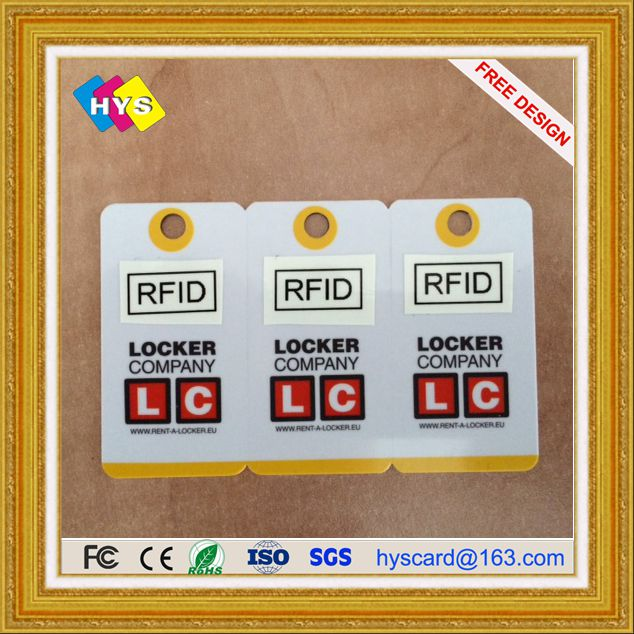 Factory Price Business Membership RFID Card And Plastic PVC Smart RFID Chip ID Card For Hotel