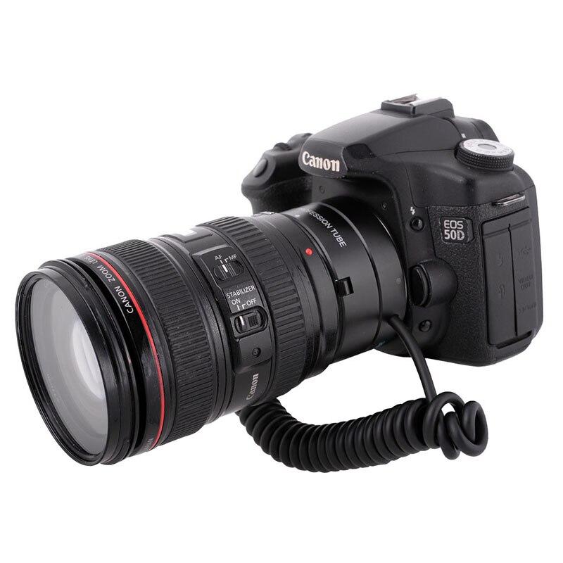 Meike MK-C-UP Auto Tube d'extension Macro adaptateur d'objectif à bague inversée pour appareil photo Canon - 2