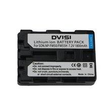 Offre spéciale 1 pièces NP FM50 NP FM50 NPFM50 Rechargeable Batterie Pour Appareil Photo Sony Alpha A100 DSLR A100 A100K CCD TRV408 DCR PC105