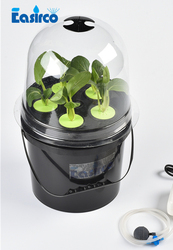 5L DWC POT for  Hydroponics system with 5 site of basket cup . Free shipping