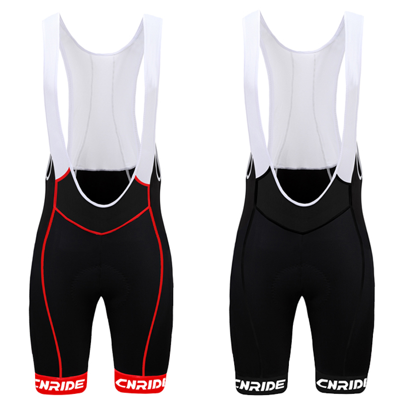 Summer men's road bike riding pants with back straps Professional game Cycling shorts with long haul suspenders Lycra material