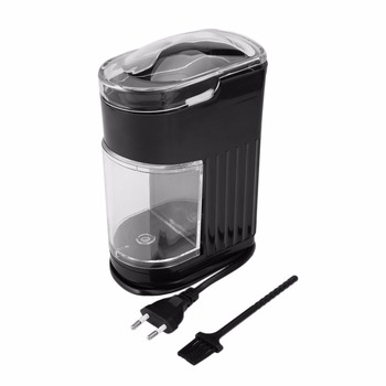 220V Household Electric Coffee Grinder Stainless Steel Blade Bean Spice Maker Grinding Machine Rapid Autonmatic Coffee Mill Electric Coffee Grinders
