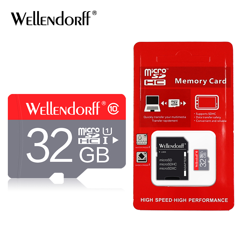 micro sd 32gb 16gb sd card 8gb 4gb microsd card 32gb memory card tf card free adapter with retail package