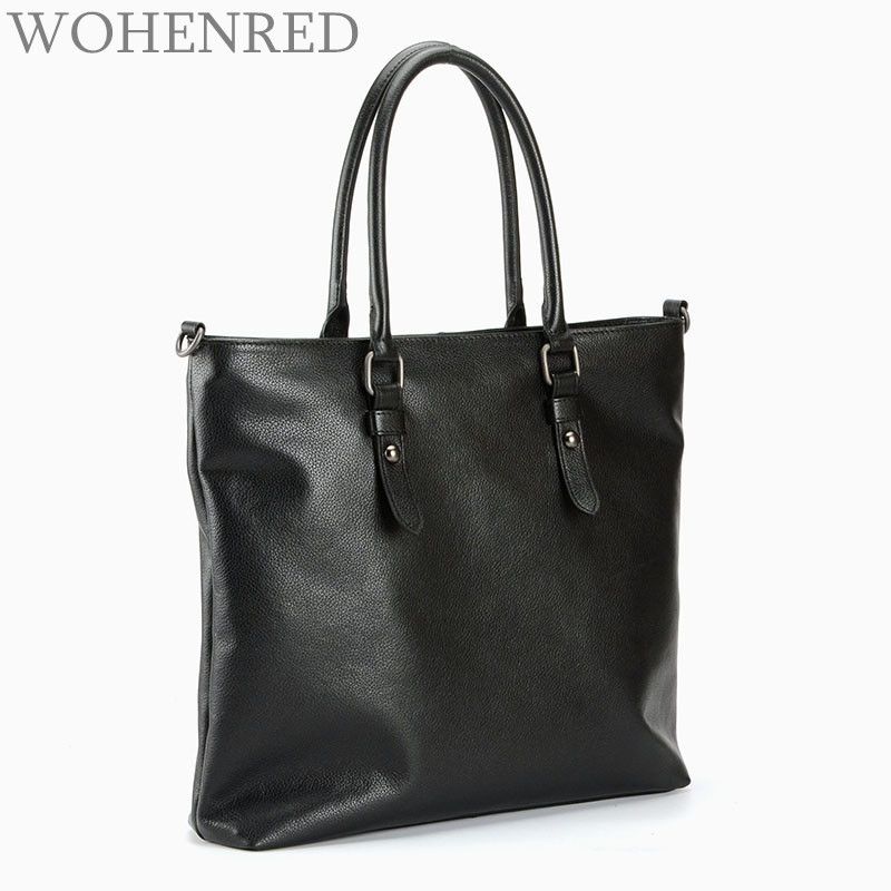 Designer Handbags High Quality Soft Genuine Leather Women Bag Classic Large Capacity Shoulder Bags For Ladies Black Casual Tote купить