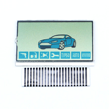 Free shipping Hot sale A61 Lcd display flexible cable for Starline A61 lcd remote controller zebra Stripes