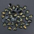 10 unids/lote 3D Charm Negro Joyería Decoraciones Del Arte Del Clavo Clavos Turquesa Resina Taladro DIY Accesorios Para Uñas de Gel Diseño PJ186