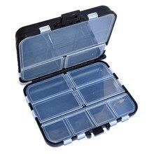 snowshine2#3022  11 Grid Fishing Gear Box Bait Bait Hook Storage Small Box Hook Box wholesale