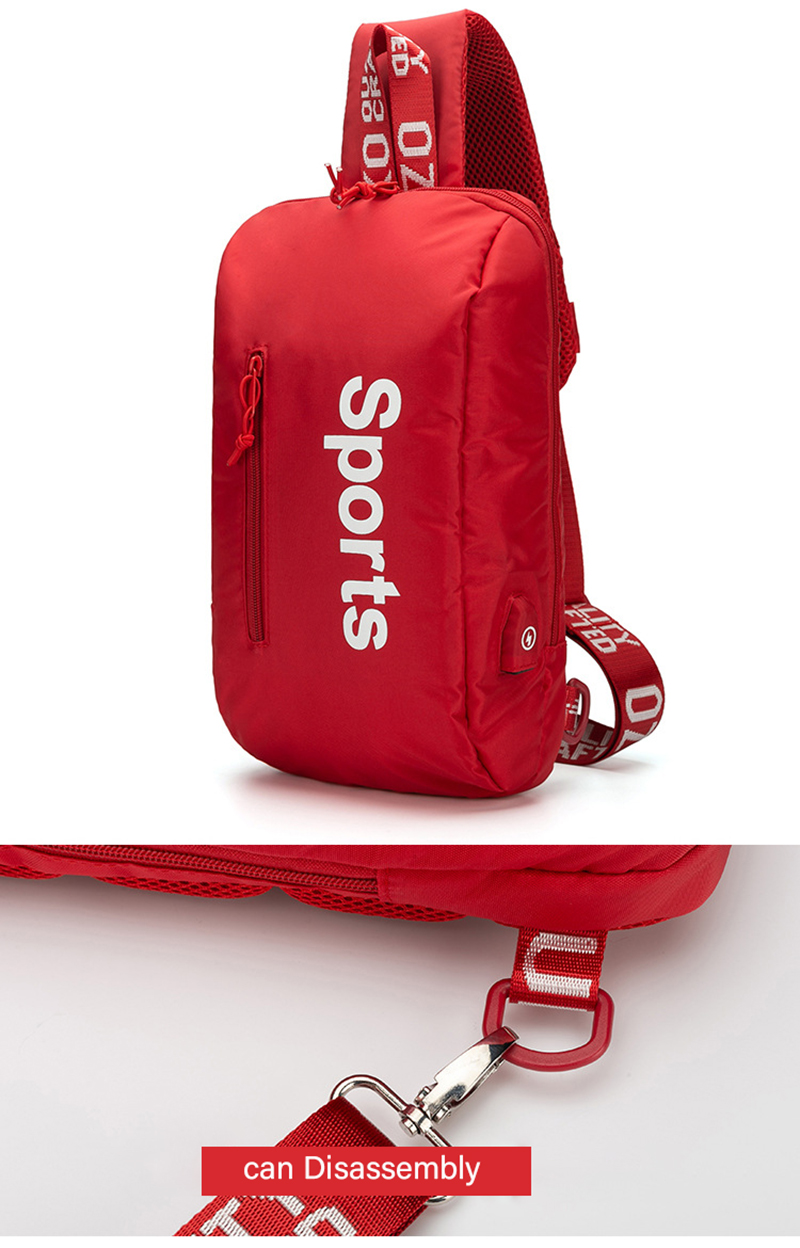 Ozuko 9110 moda crossbody sacos de carregamento