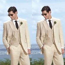 Smoking Sale Real Two Buttons 2017 Man Suits Men's Tuxedo Wedding For Men Groom Groomsmen Tuxedos Mens Suits(jacket+pants+vest)