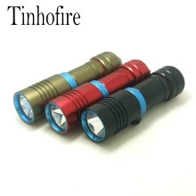 Tinhofire Diving 2000LM CREE XM-L L2 LED Torch diving depth 100M diving Underwater flashlight Camping Hiking Outdoor Light X1S