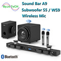 JY AUDIO A9 Bluetooth Саундбар 5 1 объемный звук домашний кинотеатр 8 единиц интегрированный домашний кинотеатр тв динамик с 8-дюймовым сабвуфером