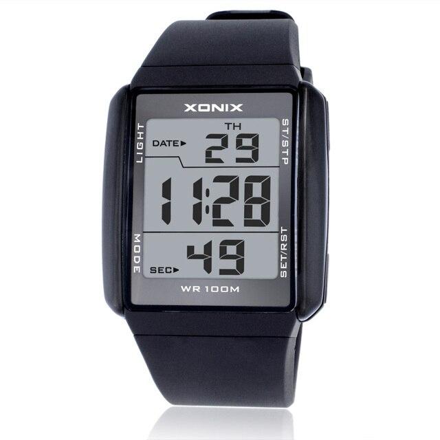 Hot!!!Fashion Lovers' Sports Watches Waterproof 100M Men and Women Digital Watch