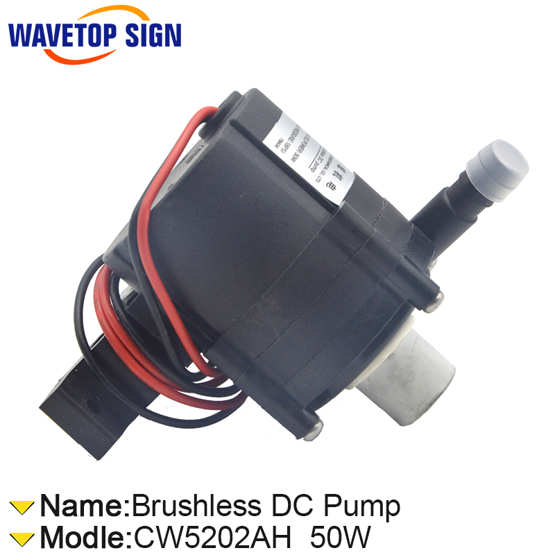 P2450 24V voltage 50W watt 13/min 18PSI for S&A industrial Water Chiller CW5202AH brushless dc pump p2450 24v voltage 50w watt 13 min 18psi for s