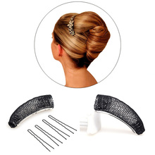 Hair Donut Bun Maker Magic Hair Styling Tools Princess Hairstyle French Twist Barrettes Hair Jewelry