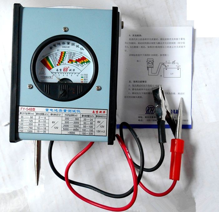 KEHUA FY 54B battery capacity meter, car / electric vehicles battery ...