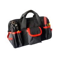 Paowuxian Adjustable Waist Belt Hardware Tools Pockets Electrical Tool Bags Construction Packs Thicker Canvas Bag Without