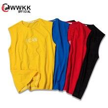 New 2019 Fashion Summer vest Male man Cotton Casual vest Tops Brand High Quantity Four-color vest Couple Clothing Sports vest four tops gateshead