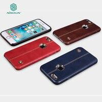 用Iphone6Sビジネススタイルカバーnillkin englon古典革ケースiphone用6 6 s 4.7狂気の馬パターン