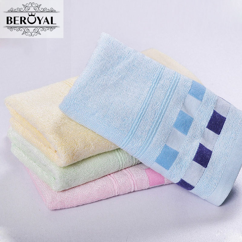 Spa Cold Towels: Beroyal Brand 1pc Bamboo Towel Solid Adult Hand Towel