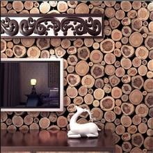 Beibehang luxe 3D bois impression papier peint rouleau papier peint Mural mode stickers muraux de papier peint étanche PVC Papel de Par