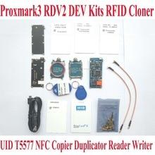 Proxmark3 RDV2 elechouse Dev Наборы RFID Cloner Дубликатор читатель писатель UID T5577 NFC Копиры proxmark 3 клон трещины