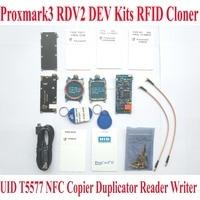 Proxmark3 RDV2 ELECHOUSE DEV Kits RFID Cloner Duplicator Reader Writer UID T5577 NFC Copier Proxmark 3